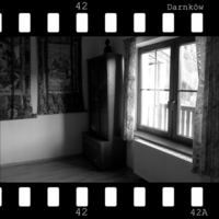 Empty room at New Year in a Buddhist center No. 42